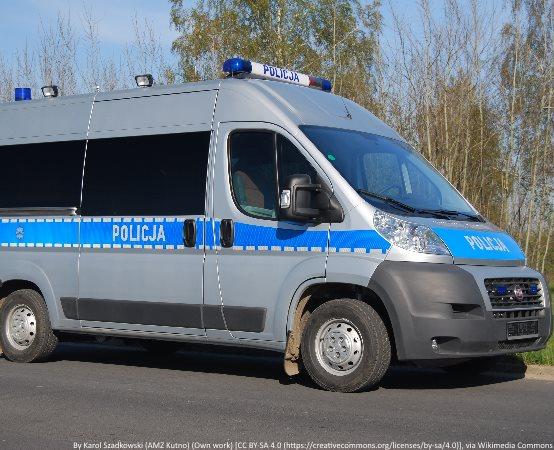 Policja Lublin: Neodpowiedzialny motocyklista uciekając przed kontrolą spowodował wypadek